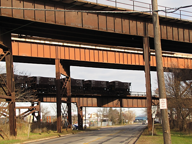 Railroad Trestle, Duluth