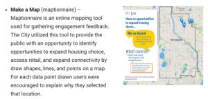 2040 Maptionnaire