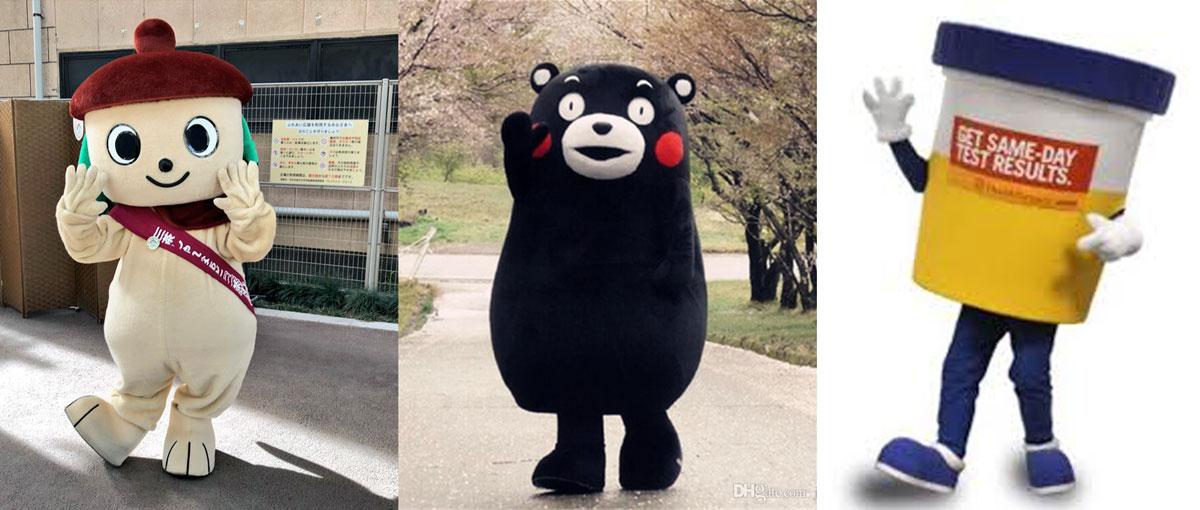 Mondo Mascots Tryptich