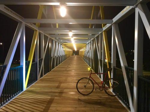 Loring Park Sculpture Garden Bridge