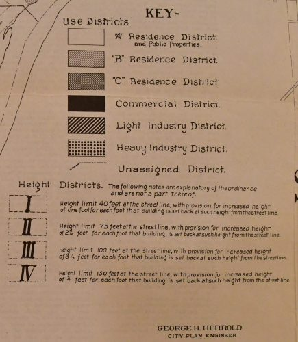 Land Use categories in Saint Paul in 1922