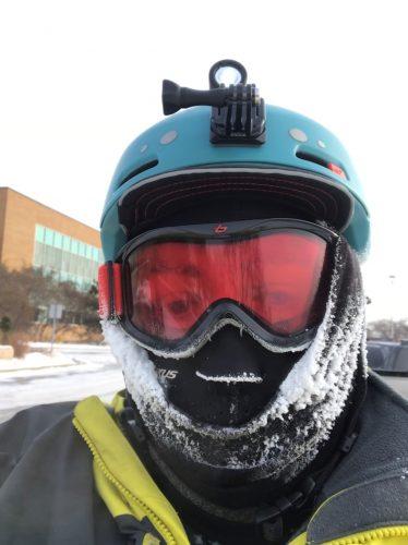 Jenny W Winter Bike Selfie