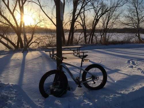Bicycling in Winter is Beautiful