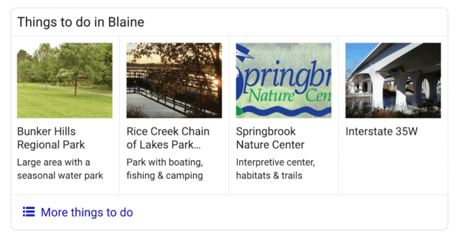 Things to Do in Blaine