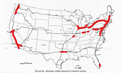 Interstate 2 Vs 4 Lanes R