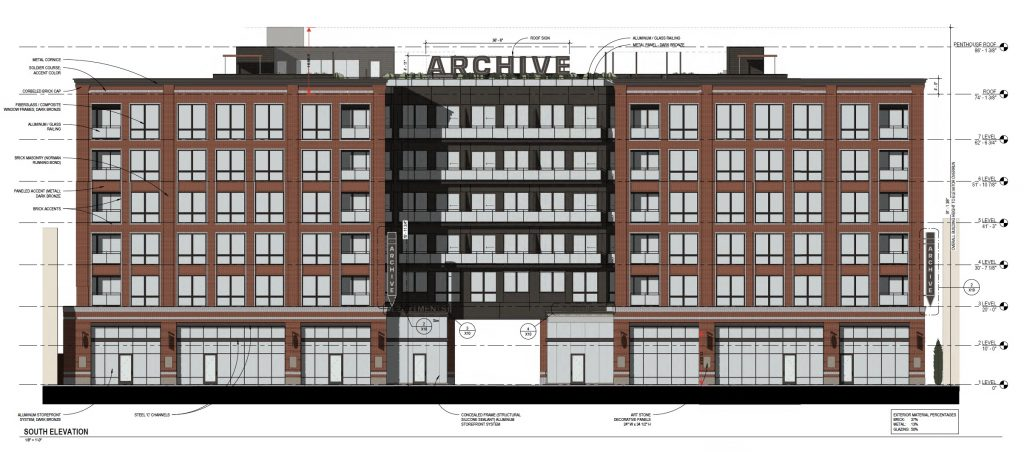 Archive North Loop South Elevation