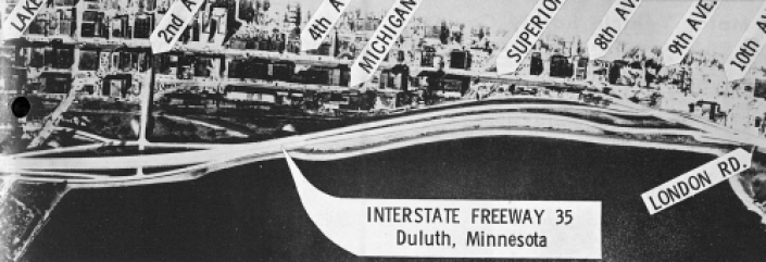 Proposed Elevated I-35, Duluth
