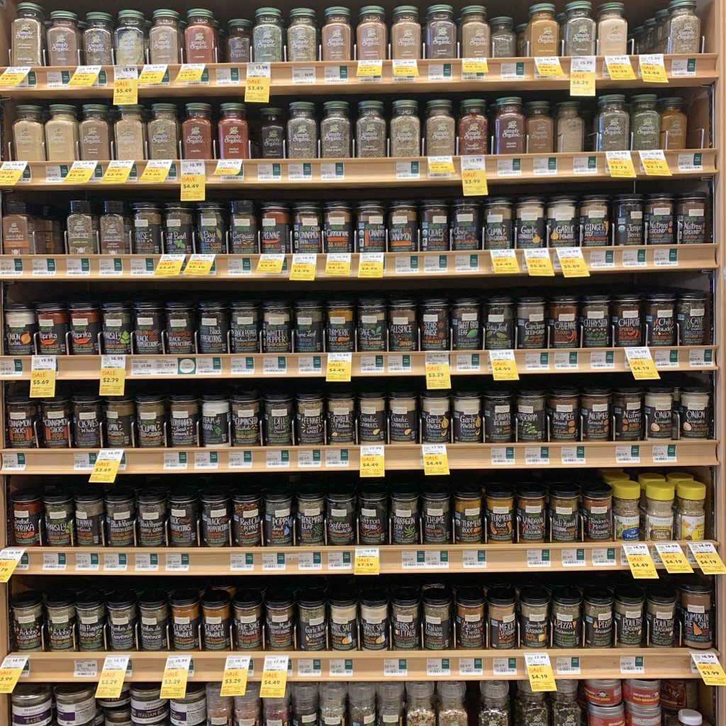 Whole Foods Aisle Spices