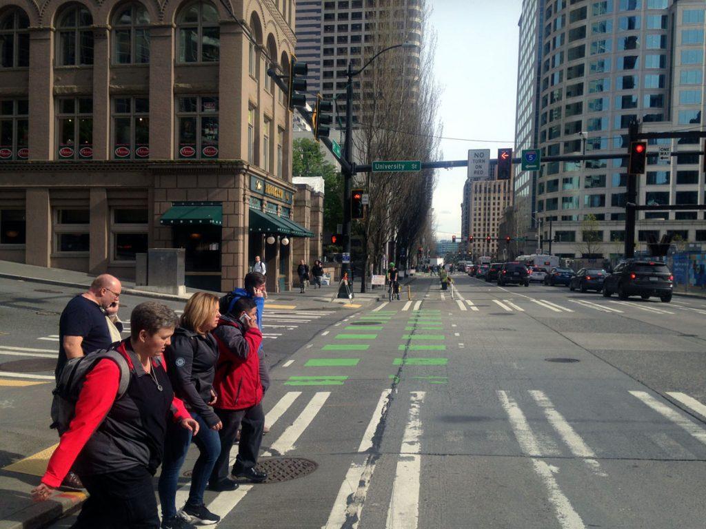 Seattle Bike Lane 2