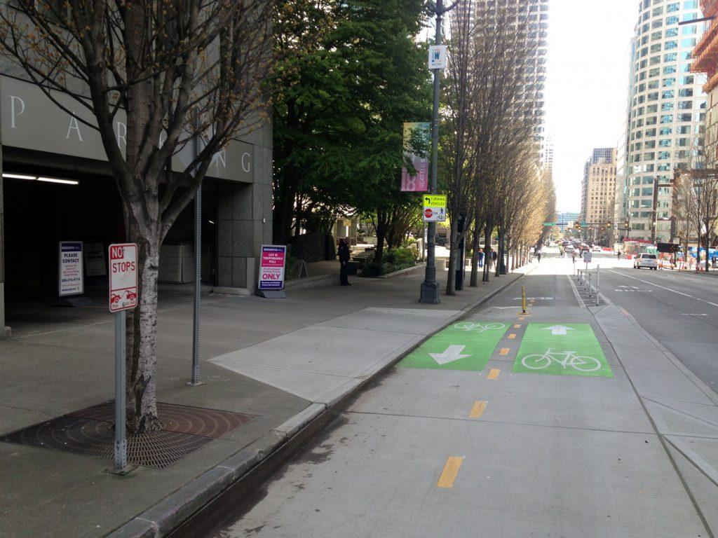 Seattle Bike Lane 3