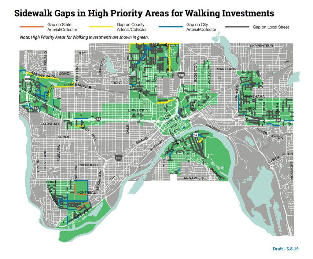 Stp Ped Priority Gap Map