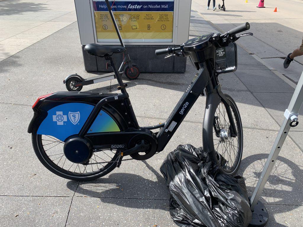 NiceRide Gen 1 electric bike.