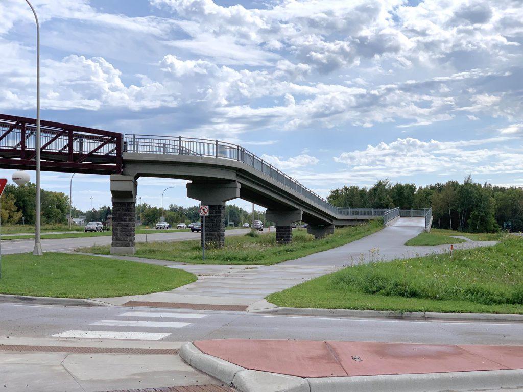 Forest Lake Roundabout Pedestrian Bridge Ramp