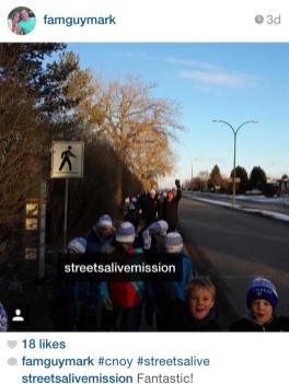 young walkers - cnoy 2015