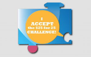 25 for 25 Challenge Accepted - Streets Alive Mission