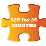 $25 for 25 MONTHS - Streets Alive Mission