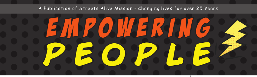 Streets Alive Mission - Fall 2015 News