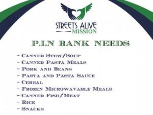 Pin Bank Needs