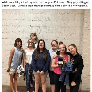 Bigger Better Best - Epidemyc Youth - bulova watch