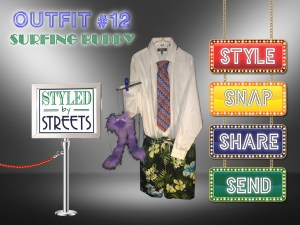 Styled by Streets - Outfit 12 - SURFING BUDDY