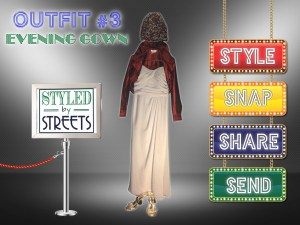 Styled by Streets - Outfit 3 - Evening Gown