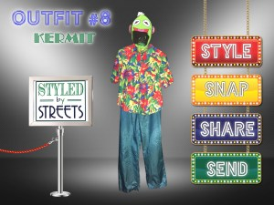 Styled by Streets - Outfit 8 - Kermit