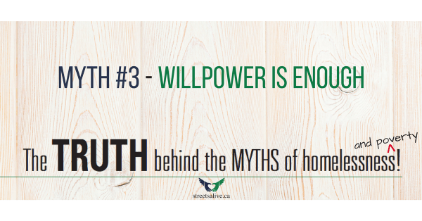 Willpower is enough to break an addiction - poverty myth