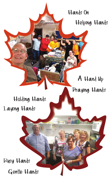 your helping hands battle poverty in Lethbridge