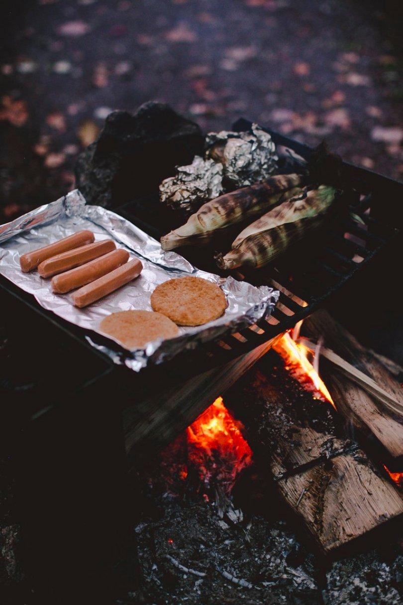 Vegan campfire food | streetsandstripes.com