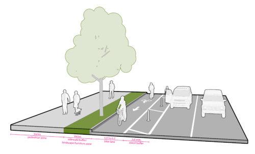 protected bike lanes seattle