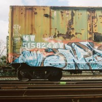Rusted Train Car