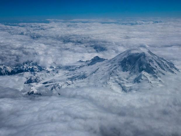 Mount Rainier inWashington