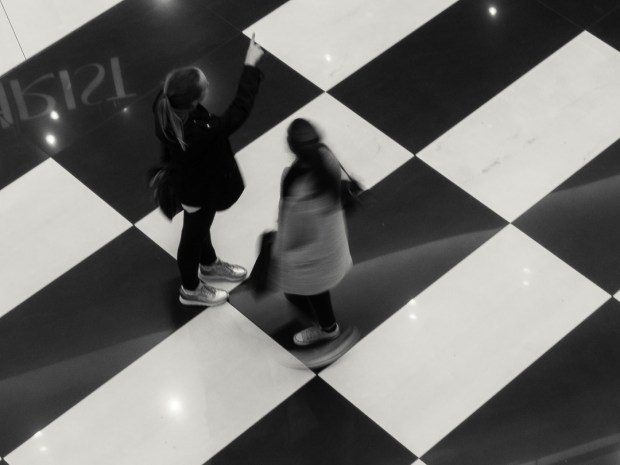 Blurred Shoppers