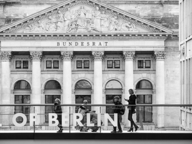 Bundesrat and Mall of Berlin