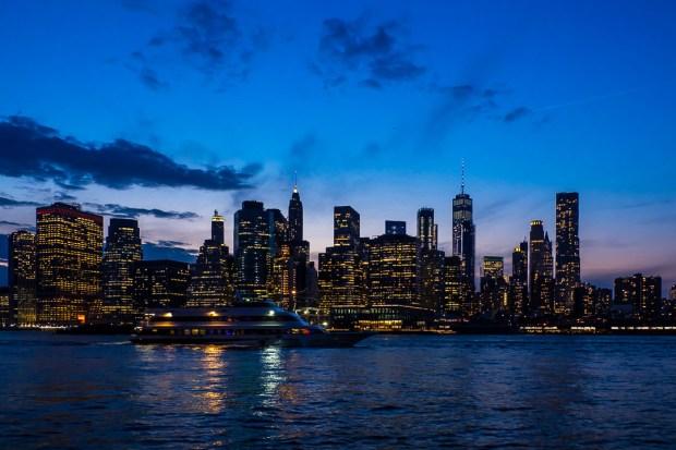 Blue Hour Skyline