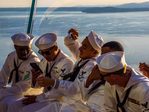 Sailor's View |1/400 sec - f/8 - ISO 200 - 40mm