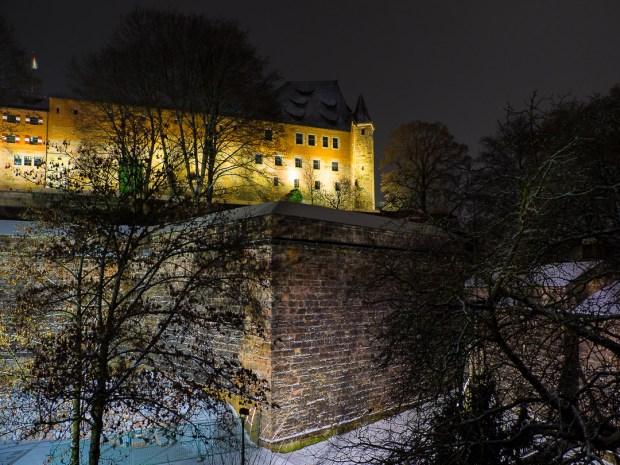 nuremberg old town in winter 22