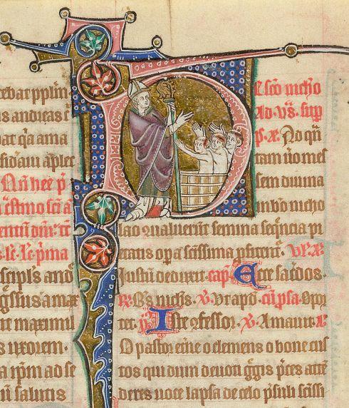 Nicholas of Bari Stowe Breviary BL