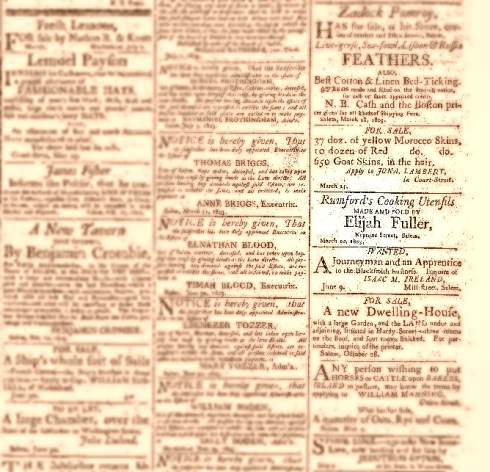 Rumford Cooking Utensils 1803