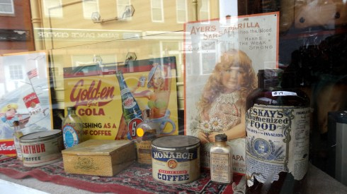Salem Apothecaries window