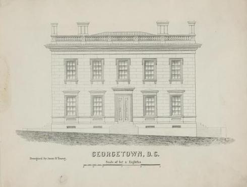Georgetown post office by Young