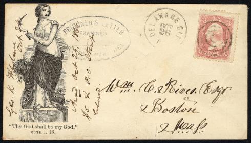 Letter from Union Prisoner of War