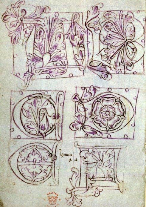 Alphabet Book Sloane 1448 15thC