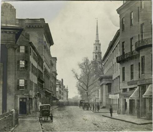 Boston Tremont Street 1860