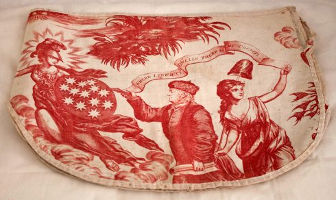 Patriotic Pattern Apotheosis Bed Valence Dumbarton