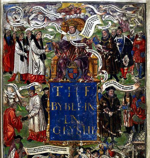 Tudors Great Bible 1538 BL Henry VIII