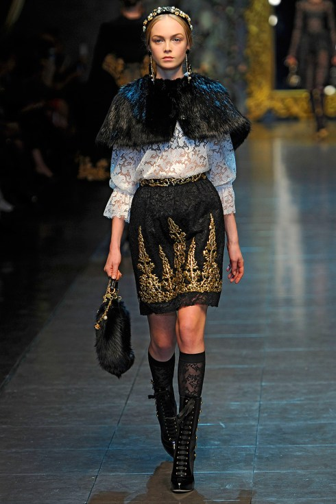 Dolce and Gabbana fall 2012