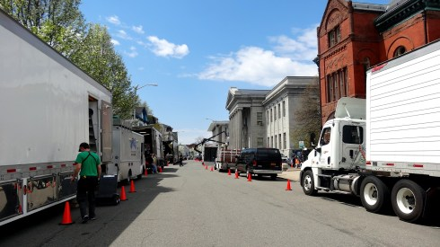 Filming on Federal 011