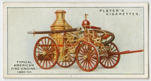 Fire Engine 1880-90 NYPL