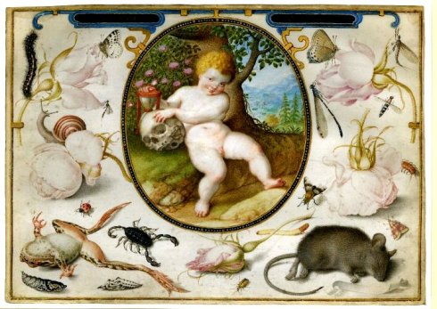 Hoefnagel Allegory of Life and Death Met